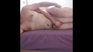 Sexy mature BBW makes love to husband in the morning and orgasms hard after long pussy licking